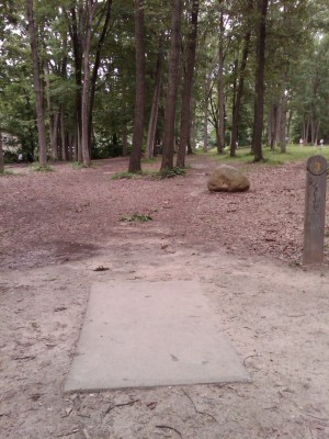 J.C. Park, Main course, Hole 3 Tee pad