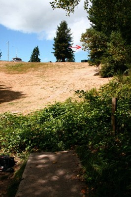 Terrace Creek, Main course, Hole 12 Tee pad