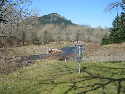 North Bonneville DGC, Main course, Hole 5 Putt