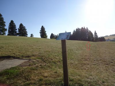 Sunnyside Park, Main course, Hole 2 Tee pad