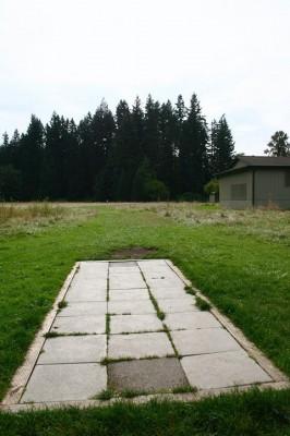 Juel Community Park, Main course, Hole 1 Tee pad