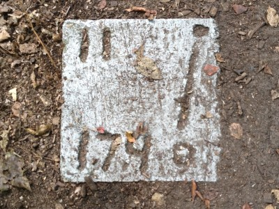 Parmalee Park, Main course, Hole 11 Hole sign