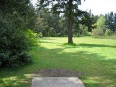 Fort Steilacoom Park, Northwest Course, Hole 11 Tee pad