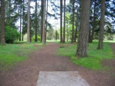 Fort Steilacoom Park, Northwest Course, Hole 2 Tee pad