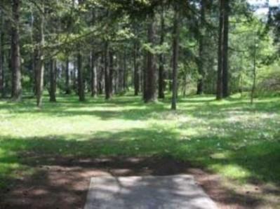 Fort Steilacoom Park, Northwest Course, Hole 12 Tee pad