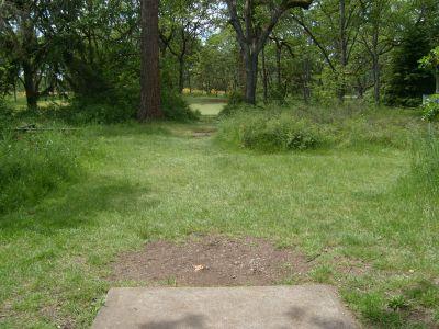 Fort Steilacoom Park, Northwest Course, Hole 17 Tee pad