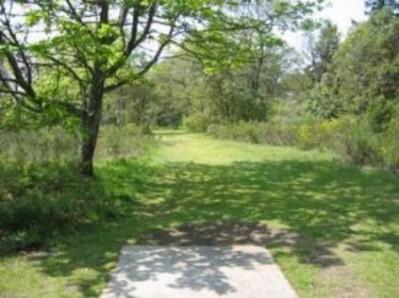 Fort Steilacoom Park, Northwest Course, Hole 6 Tee pad