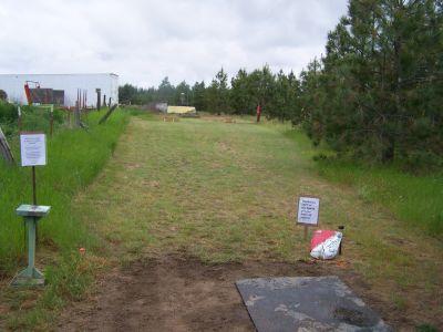 Stimpi Ridge, Main course, Hole 8 Tee pad