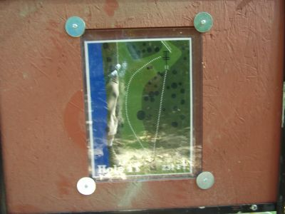 Riverside, Main course, Hole 11 Hole sign