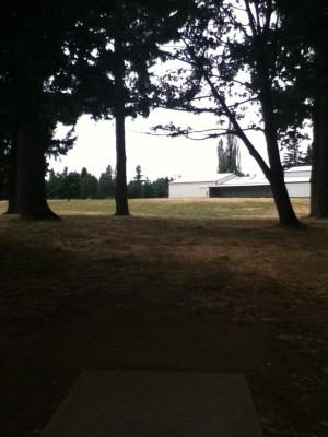Glenwood Community Church, Main course, Hole 2 Tee pad