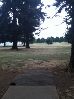 Glenwood Community Church, Main course, Hole 6 Tee pad
