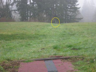 WSU-Vancouver, Main course, Hole 1 Tee pad