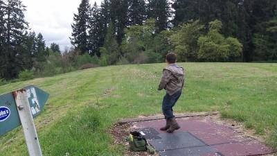 WSU-Vancouver, Main course, Hole 3 Tee pad