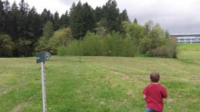 WSU-Vancouver, Main course, Hole 5 Tee pad