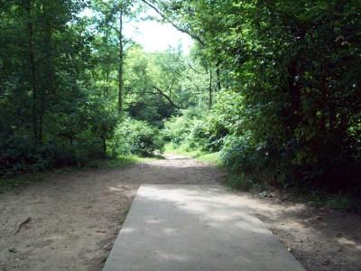 Grand Woods Park, Main course, Hole 7 Tee pad