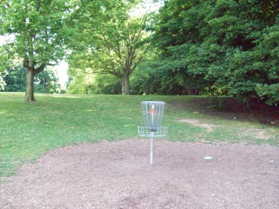 Grand Woods Park, Main course, Hole 18 Reverse (back up the fairway)