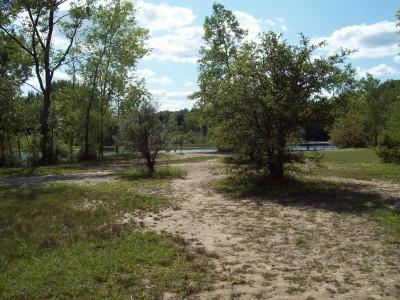 Grand Woods Park, Main course, Hole 5 Midrange approach