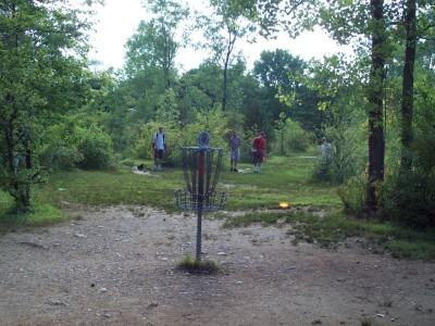 Grand Woods Park, Main course, Hole 13 Reverse (back up the fairway)
