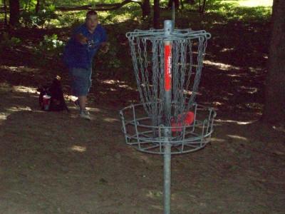 Grand Woods Park, Main course, Hole 17 Putt