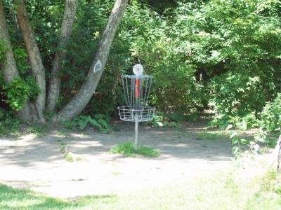 Grand Woods Park, Main course, Hole 1 Short approach