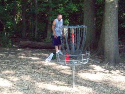 Grand Woods Park, Main course, Hole 15 Putt