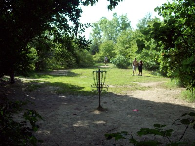 Grand Woods Park, Main course, Hole 15 Reverse (back up the fairway)