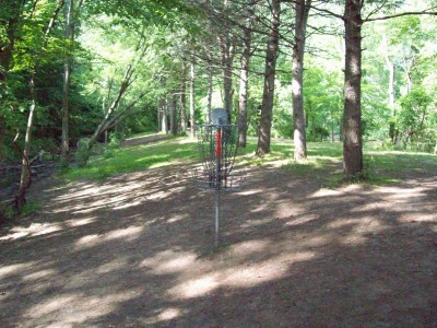 Grand Woods Park, Main course, Hole 8 Reverse (back up the fairway)