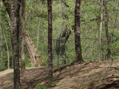 Grand Woods Park, Main course, Hole 7 Short approach