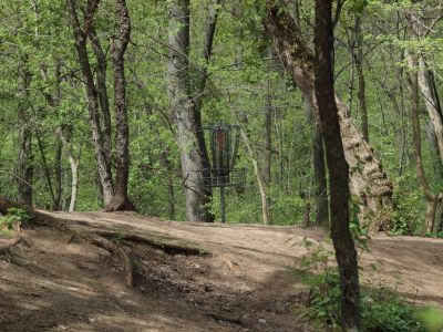 Grand Woods Park, Main course, Hole 7 Short approach