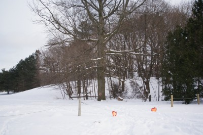 Grand Woods Park, Main course, Hole 17 Tee pad