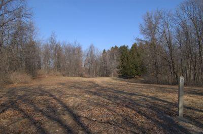 Addison Oaks County Park, Main course, Hole 4 Tee pad