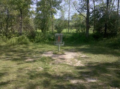 Fallasburg Park, Main course, Hole 4 Putt