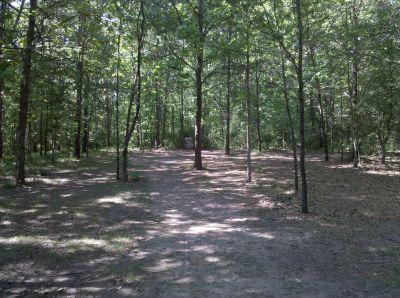 Fallasburg Park, Main course, Hole 9 Short approach
