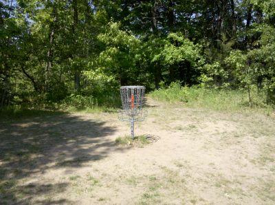 Fallasburg Park, Main course, Hole 16 Putt