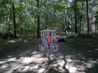 Fallasburg Park, Main course, Hole 10 Putt