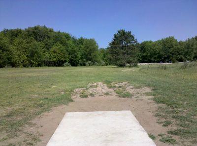 Fallasburg Park, Main course, Hole 18 Tee pad