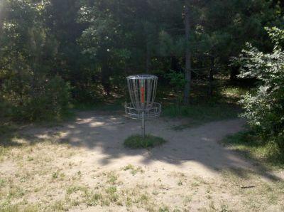 Fallasburg Park, Main course, Hole 8 Putt