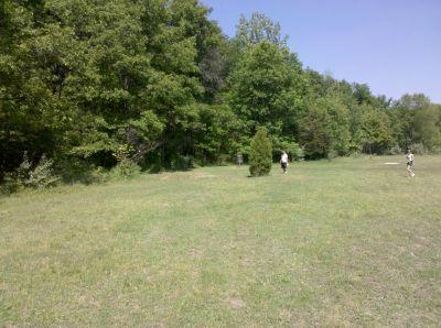 Fallasburg Park, Main course, Hole 17 Midrange approach