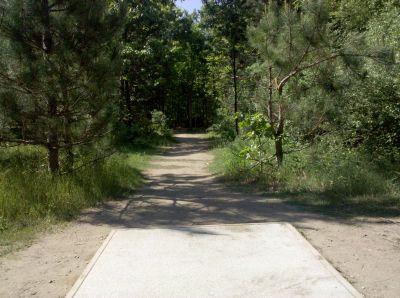 Fallasburg Park, Main course, Hole 9 Tee pad