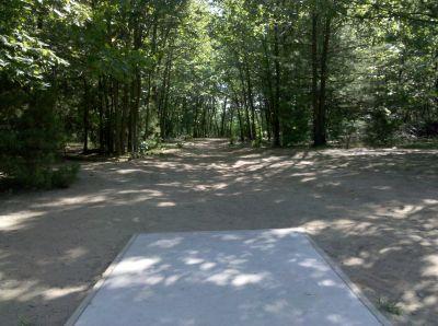 Fallasburg Park, Main course, Hole 7 Tee pad