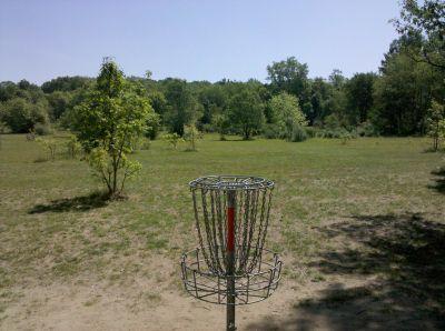 Fallasburg Park, Main course, Hole 16 Reverse (back up the fairway)
