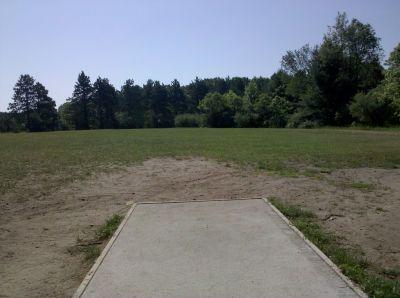 Fallasburg Park, Main course, Hole 8 Tee pad