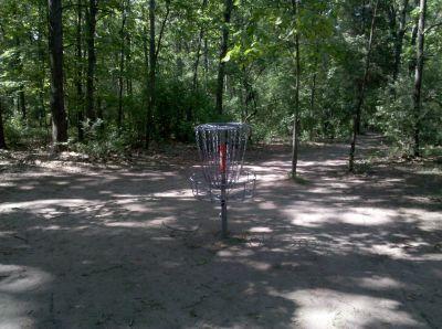 Fallasburg Park, Main course, Hole 9 Putt