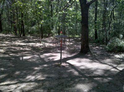 Fallasburg Park, Main course, Hole 12 Putt