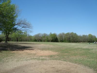 Dolese Youth Park, Main course, Hole 10 Tee pad