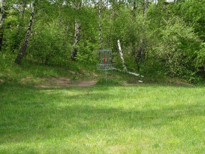 Mason County Park, Beauty, Hole 5 Putt