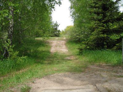 Mason County Park, Beauty, Hole 4 Middle tee pad