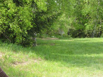 Mason County Park, Beauty, Hole 5 Midrange approach