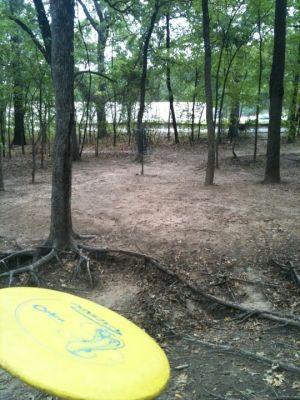 Hunter Park, Main course, Hole 2 Short approach