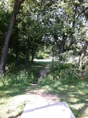 Haikey Creek Park, Main course, Hole 15 Tee pad
